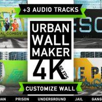 VIDEOHIVE URBAN WALL KIT | GRAFFITI STREET ART