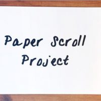 VIDEOHIVE PAPER SCROLL PROJECT