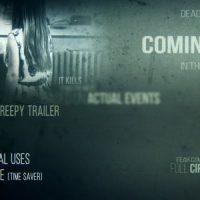 VIDEOHIVE DEAD SILENCE – CREEPY TRAILER