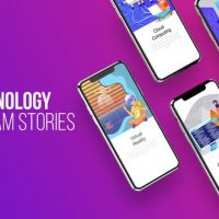 VIDEOHIVE TECHNOLOGY – INSTAGRAM STORIES