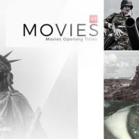 VIDEOHIVE MOVIES TITLES OPENING