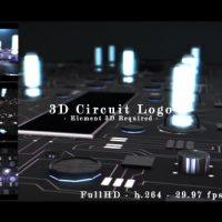 VIDEOHIVE 3D CIRCUIT INTRO