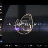 VIDEOHIVE 3D HARDWARE INTRO