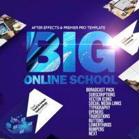 VIDEOHIVE BIG ONLINE SCHOOL BROADCAST PACK