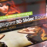 VIDEOHIVE ELEGANT 3D SLIDER ROOM