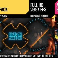 VIDEOHIVE GAME ZONE (BROADCAST PACK)