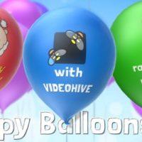VIDEOHIVE HAPPY BALLOONS
