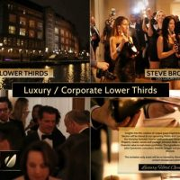 VIDEOHIVE LUXURY / CORPORATE – LOWER THIRDS PACKAGE
