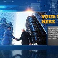 VIDEOHIVE MODERN CORPORATE SLIDESHOW