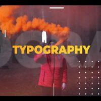 VIDEOHIVE TYPOGRAPHY INTRO 22348639