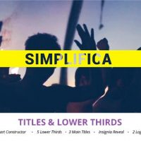 VIDEOHIVE SIMPLIFICA // TITLES & LOWER THIRDS