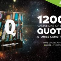 VIDEOHIVE STORIES CONSTRUCTOR – QUOTES