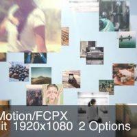 VIDEOHIVE SIMPLE MOSAIC LOGO – APPLE MOTION