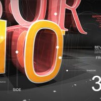 VIDEOHIVE 3D TEXT REVEAL