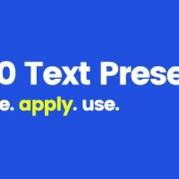 VIDEOHIVE 170 TEXT PRESETS