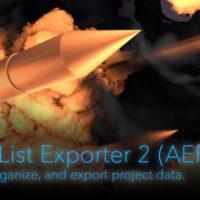 PROJECT INFO LIST EXPORTER 2 (AESCRIPT)