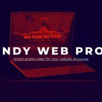 VIDEOHIVE TRENDY WEBSITE PROMO