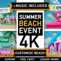 VIDEOHIVE SUMMER BEACH – HOLIDAY RESORT PARTY EVENT