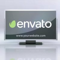 VIDEOHIVE TV SPEAKERS LOGO INTRO