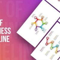 VIDEOHIVE SET OF BUSINESS INFOGRAPHICS TIMELINE