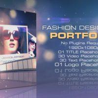 VIDEOHIVE FASHION DESIGNERS PORTFOLIO