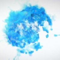 VIDEOHIVE BLUE SMOKE LOGO REVEAL