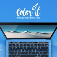 VIDEOHIVE COLOR IT – NOTEBOOK PRESENTATION