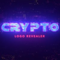VIDEOHIVE CRYPTO LOGO REVEAL