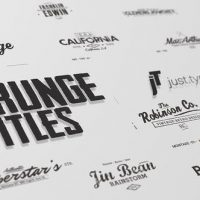 VIDEOHIVE JUST TYPE | GRUNGE TITLES