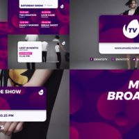 VIDEOHIVE MODERN BROADCAST 21616789