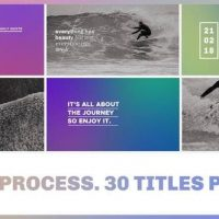 VIDEOHIVE THE PROCESS / TITLES PACK