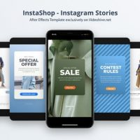 VIDEOHIVE INSTASHOP – INSTAGRAM STORIES