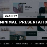 VIDEOHIVE CLARITY // MINIMAL PRESENTATION – CLEAN PROMO