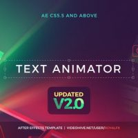 VIDEOHIVE TEXT ANIMATOR 01: CREATIVE MODERN TITLES V2