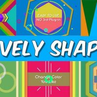 VIDEOHIVE LIVELY SHAPES
