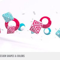 VIDEOHIVE BROADCAST – NETWORK DESIGN SHAPES & COLORS