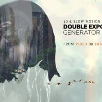 VIDEOHIVE DOUBLE EXPOSURE GENERATOR V4 – AFTER EFFECTS TEMPLATES