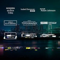 VIDEOHIVE GLITCH TITLES ANIMATIONS