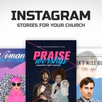 VIDEOHIVE CHURCH INSTAGRAM STORIES