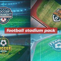VIDEOHIVE FOOTBALL STADIUM PACKAGE