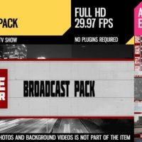 VIDEOHIVE LINE EDITOR (BROADCAST PACK)