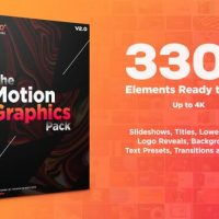 VIDEOHIVE MOTION GRAPHICS PACK V2