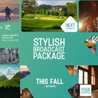 VIDEOHIVE STYLISH BROADCAST PACKAGE 18149617