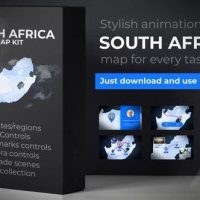 VIDEOHIVE SOUTH AFRICA MAP – REPUBLIC OF SOUTH AFRICA MAP KIT