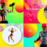 VIDEOHIVE SPORTY CLUB – FITNESS PROMOTION