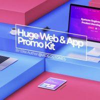VIDEOHIVE HUGE WEB PROMO & APP PROMO KIT