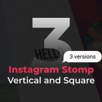 VIDEOHIVE STOMP INSTAGRAM 3 IN 1 | VERTICAL AND SQUARE