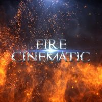 VIDEOHIVE FIRE CINEMATIC TITLES