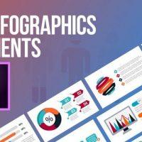 VIDEOHIVE 43 INFOGRAPHICS ELEMENTS (MOGRT) – PREMIERE PRO