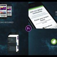 VIDEOHIVE 3D PHONE APP PROMO – PREMIERE PRO